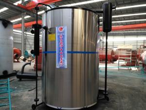 China Easy Installation Packaged 1ton-4ton Vertical Type Oil Steam Boiler For Textile Industry on sale