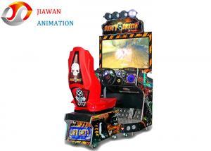 China Luxury Dirty Driving Simulator Game Machine 42 Inch Display Arcade Car Racing Games on sale
