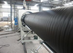 China Flexible Spiral HDPE / Pvc Pipe Manufacturing Machine With  CE ISO9001 Certificate on sale