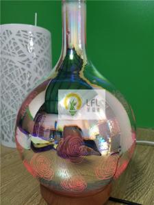 China 3D Glass Magic Decorative LED Bulbs With Color Change ABS Material 12W on sale