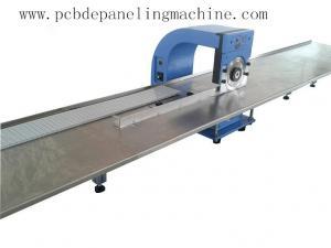 China 420X 280 X 400mm 25Kg 110/220V   60W v cut pcb depaneling machine web guide , up and down 2 circular blades on sale