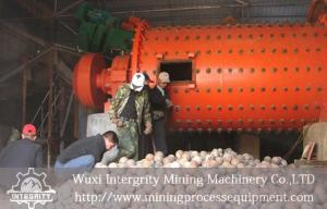 China Calcium Carbonate Grinding Rod Mill Machine ,  Mining Grid Rod Mill on sale