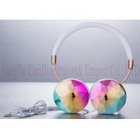 3.5mm Electroplated Foldable Stereo Headphones For Android Mobile Phones