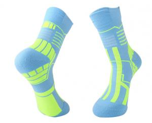 China Delicate Custom Sports Socks , Breathable Knee High Soccer Football Socks on sale