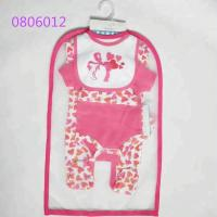 100% Cotton Baby Girl Clothing Sets Baby Gift Set 5pcs For 0 - 9 M Baby