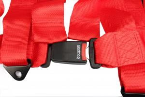 China Easy Using Anti - Fade Vehicle Seat Belts , Shoulder Harness Seat Belt Extension  on sale