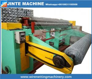 China high quality hexagonal chicken cage wire mesh making machine With CE and ISO9001 Certificates on sale