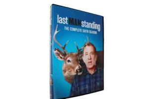 China Last Man Standing The Complete Sixth Season DVD TV Show Comedy Series DVD For Family on sale