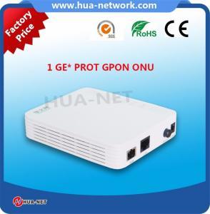 Plastic White Mini box FTTH ONU/Fiber ONU 1GE GPON Router ONU/ONT