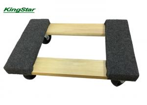 China Open Hardwood Deck 4 Wheel Moving Dolly , 800 Lb Wood Moving Dolly To Carry Stuff on sale