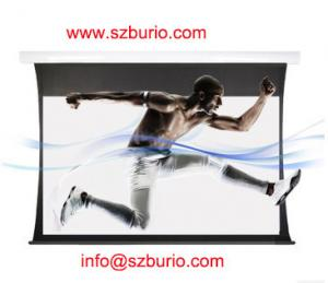 China Electric projector screen Wall Mounted Projector Screen on sale
