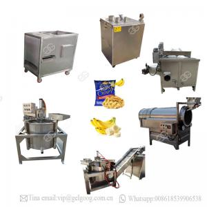 China Automatic Processing Line Machine Philippine Banana Chips Making Plant on sale