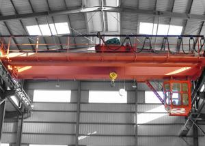 China Traveling Double Girder Overhead Crane 25 Ton Motor Driven IP54 Protection on sale
