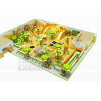 KAIQI Kids Indoor Playground Equipment , Jungle Theme Fun Indoor Tunnel Playground