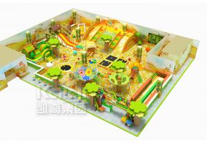 China KAIQI Kids Indoor Playground Equipment , Jungle Theme Fun Indoor Tunnel Playground on sale