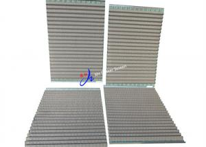 China FLC 2000 Wave Type Shale Shaker Screen With Notch for Shale Shaker on sale