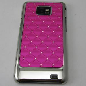 China NCVM Plating Metallic Mirror PC Mobile Phone Case for Samsung Galaxy SII on sale