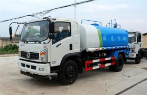 China 4X2 Water Tanker Truck 170HP 2900 Gallon Water Truck Tanks Q235 Carbon Steel on sale