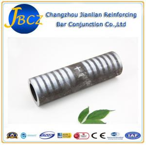 Quality Threadless Cold Pressure Steel Bar Connectors Mechanical Coupler Rebar for sale