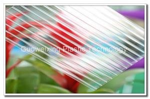 China UV Coated Polycarbonate Twin Wall Sheets Unbreakable Poly Carbonate Sheeting on sale