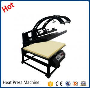 China Large format manual fabric transfer sublimation t shirt heat press machine for sale for all fabric factory5C2 on sale