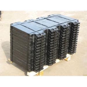 Le bâti de bonne qualité de fer a adapté le contre- poids aux besoins du client dans des pièces d'ascenseur