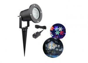 China RGB Decorative Laser Christmas Lights , Rotation Outdoor Laser Light Projector on sale