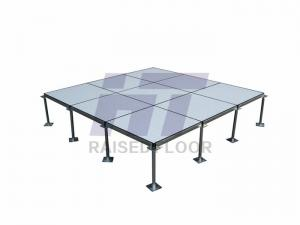 China Data Center Anti Static Raised Floor , Metal Cement Raised Access Flooring on sale