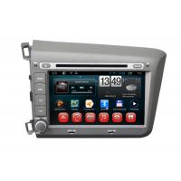 Honda 2012 Civic Left Side Navigation System Android OS DVD Player Dual Zone BT TV iPod