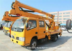 China Dongfeng 4x2 12-14M Aerial Platform Truck High Lifting Original Manufacturer on sale
