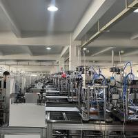 China safety low failure ratio 2% Face Mask Production Line on sale
