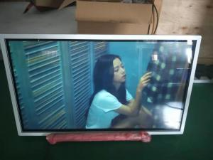 China white Wall Mounted metal frame  remote control 32 inch Touch Screen window digital signage on sale