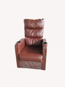 China Eco Friendly Movie Theater Sofa , Stadium Seating Couch Furniture Fine Workmanship on sale