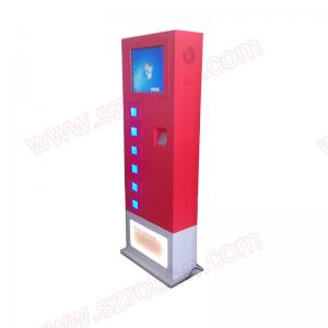 China High Safety Self service Windows 10 Mobile charging station with fingerprint reader and E-lockers on sale