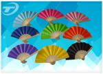 Promotional Mini Folding Hand Fans With Bamboo Or Plastic Frame