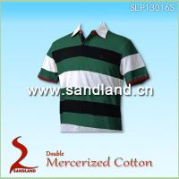 Double Mercerized Cotton Polo Shirt Golf Shirt