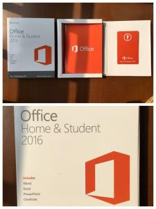 MICROSOFT~Office Home and Student 2016 English~BRAND NEW /& FACTORY SEALED!!