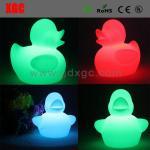 Duck Shape PE Material Decorative Luminous Lights