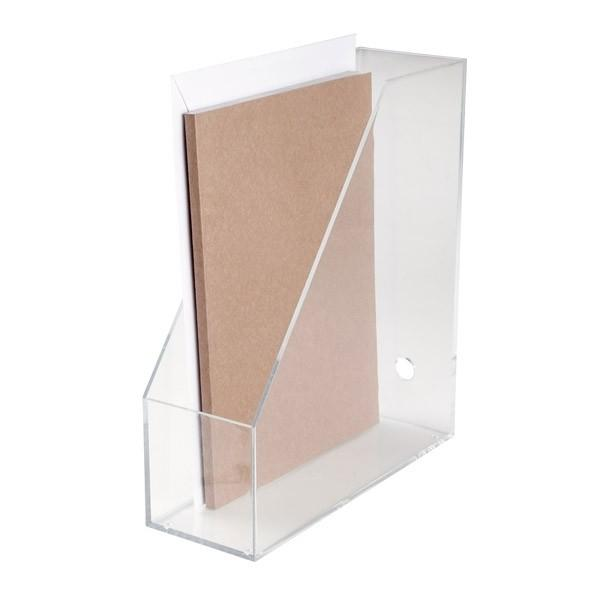 3mm Acrylic Stationery Holder Display Clear File Desktop Organizers A4 Images