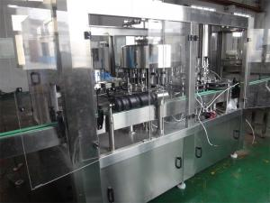 China Auto Glass Bottle Filling Machine For Carbonated Drink Washing Filling Capping Machine on sale