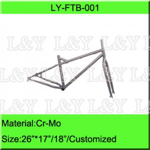 China Cr-Mo Snow Bike Frame on sale