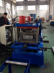 China Storage Rack Box Beam Roll Forming Machinery Shaft Diameter 75mm Product Speed 8-10m/min on sale