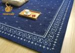 Le grand tapis de plancher soutenus par caoutchouc coloré, non tapis lavables de cuisine de glissement