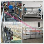 Hot Dip Galvanized Suspended Scaffold Platform With Heavy Loading Capacity