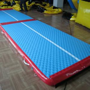 China Indoor Inflatable Sports Games , Inflatable Air Mats For Gymnastics Equipment on sale