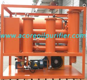 China Turbine Lube Oil Purifier Machine For Filtration, Dehydration, Degassing and Varnish Removal on sale