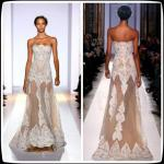 White Long Evening Party Dresses , Long Tulle Lace Zuhair Murad Pageant Gowns
