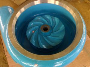 China Abrasion Resistance Slurry Pump Parts For Tailing Handling / Coal Washing / Mining on sale