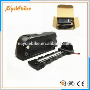 China Safety 10Ah 36v Electric Bike Replacement Battery Pack , Downtube Battery For Electric Bike on sale