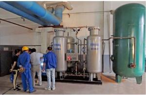 China 35Bars / 60Bars PSA System Nitrogen Production Air Compressor Raw Material on sale